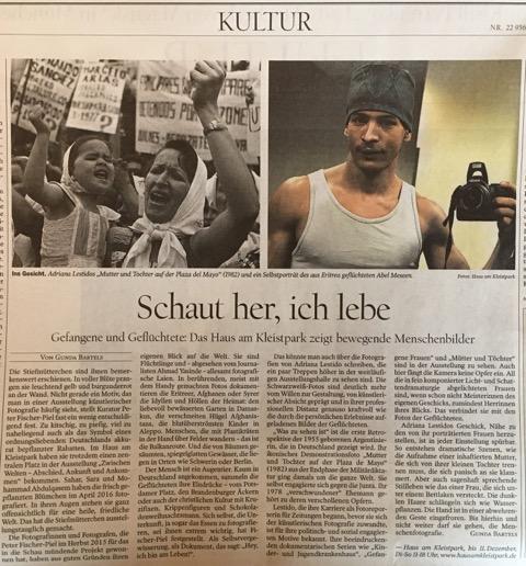 Lestido in Der Tagesspiegel