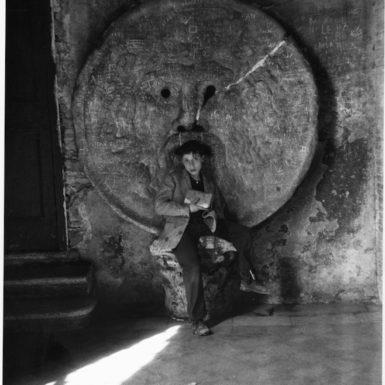 Junge in Italien 1956, wahrscheinlich Venedig Papier: 35x28, Bild: 34x22,6