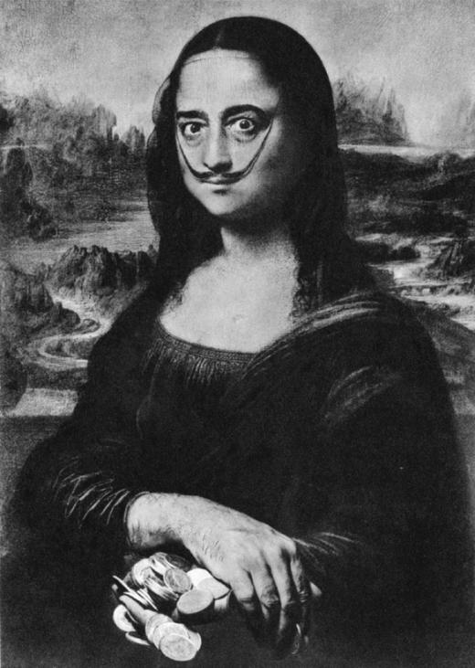 Philippe Halsman Celebrates Leonardo da Vinci
